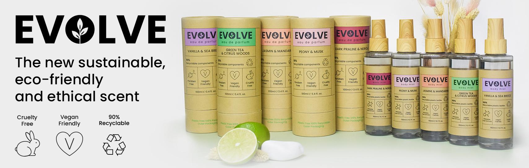 [Evolve - eau de parfum - products]