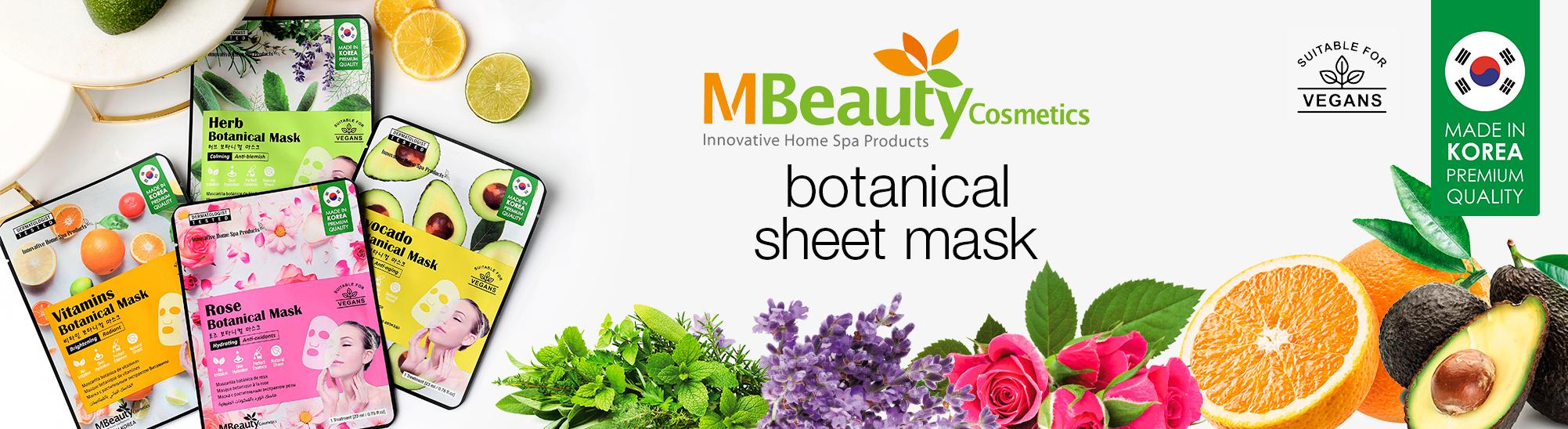 [MBeauty - botanical masks]