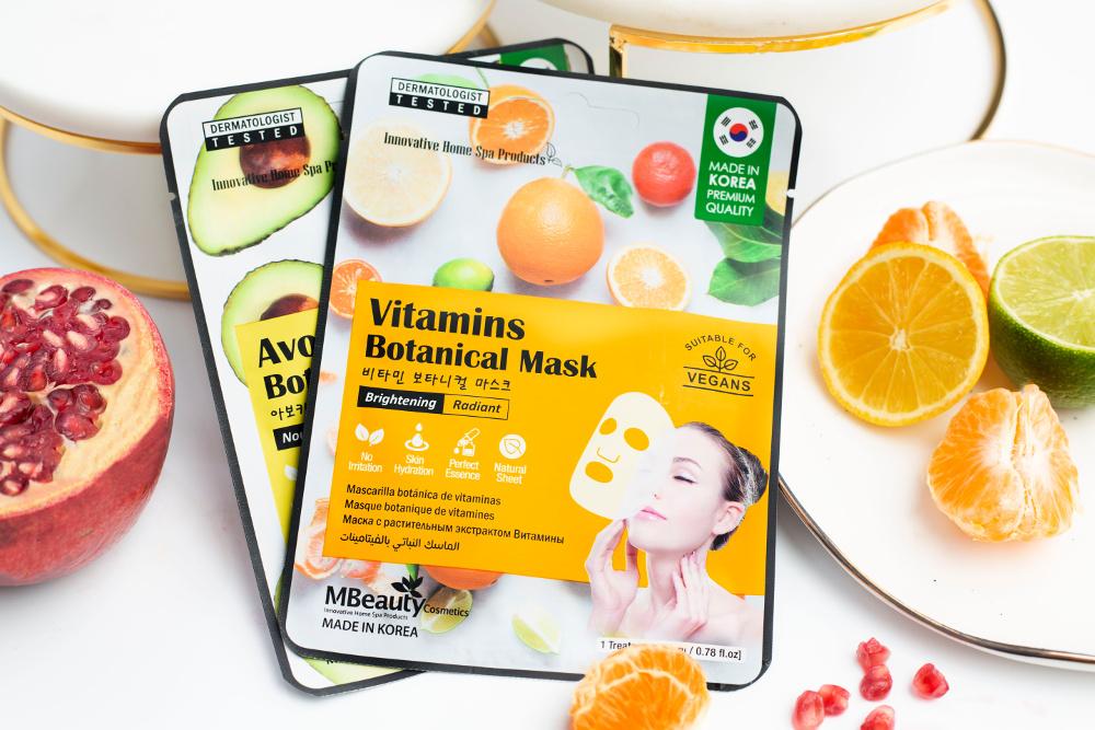 MBeauty Cosmetics - maseczki botaniczne