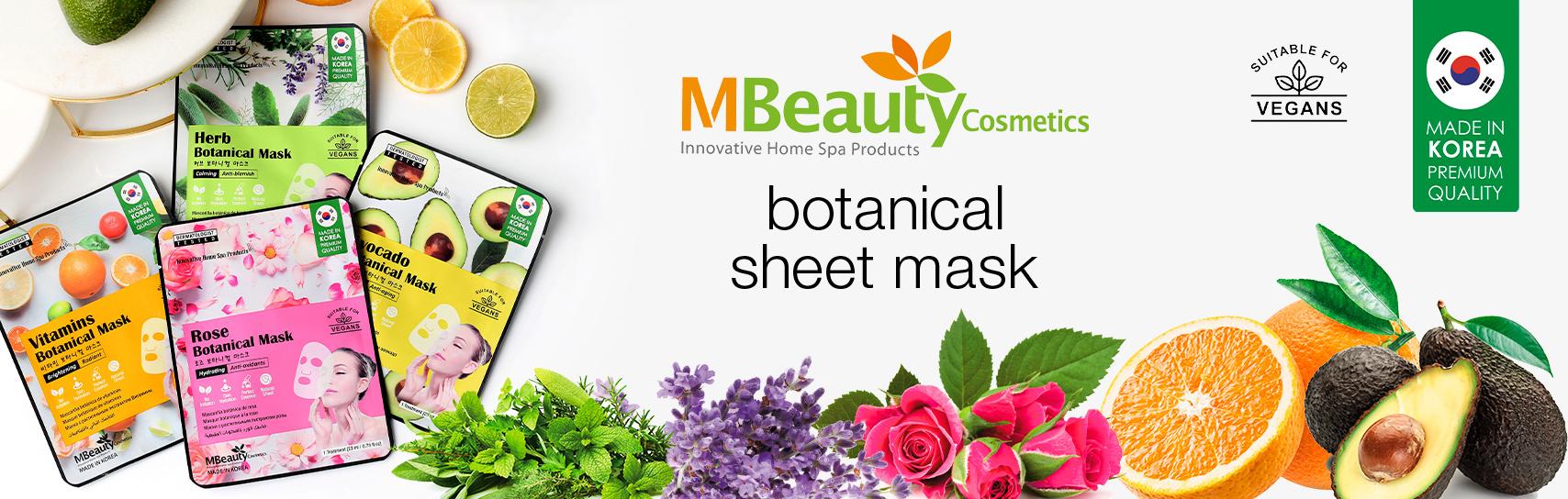 [MBeauty - botanical masks - products]