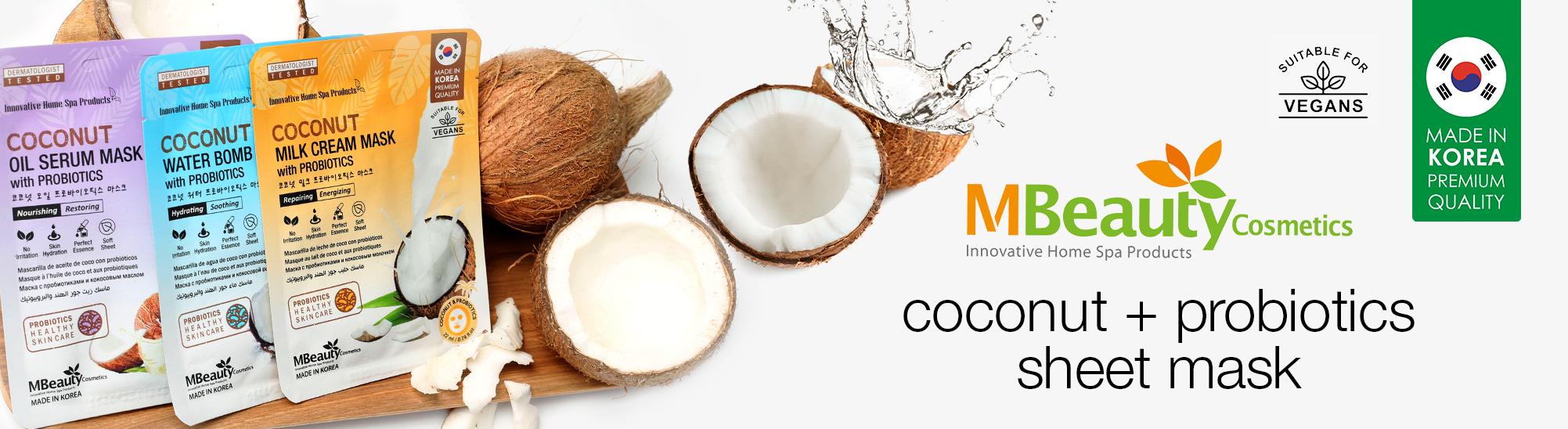 [MBeauty - coconut masks]