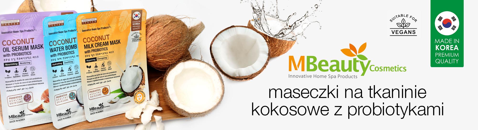 [MBeauty - maseczki kokosowe]