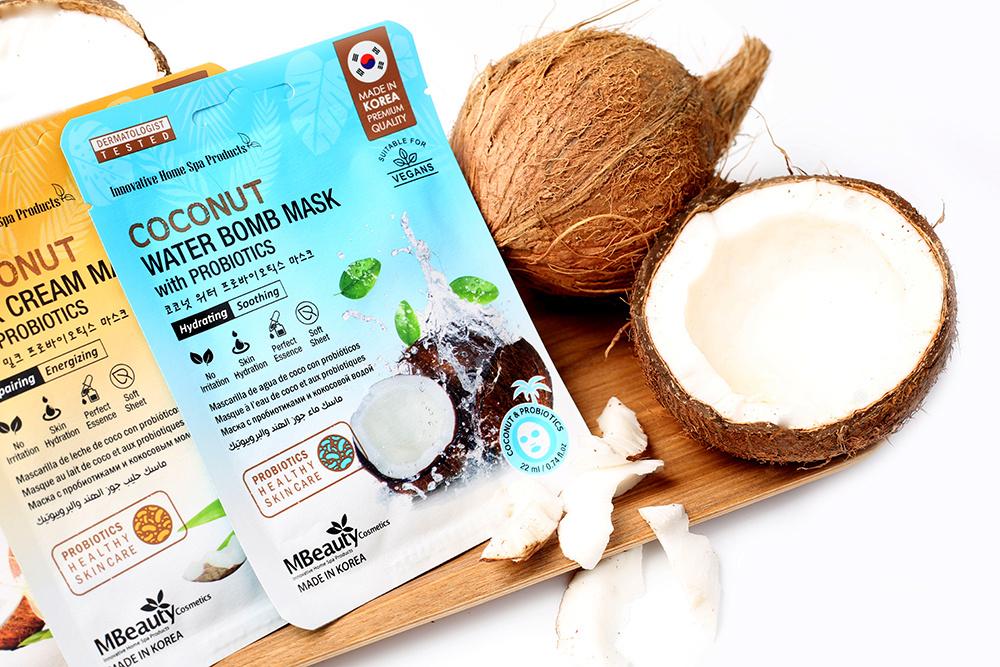 MBeauty Cosmetics - maseczki kokosowe