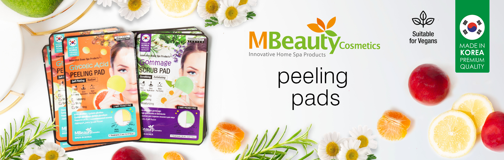 [MBeauty - cleansing pads - products]