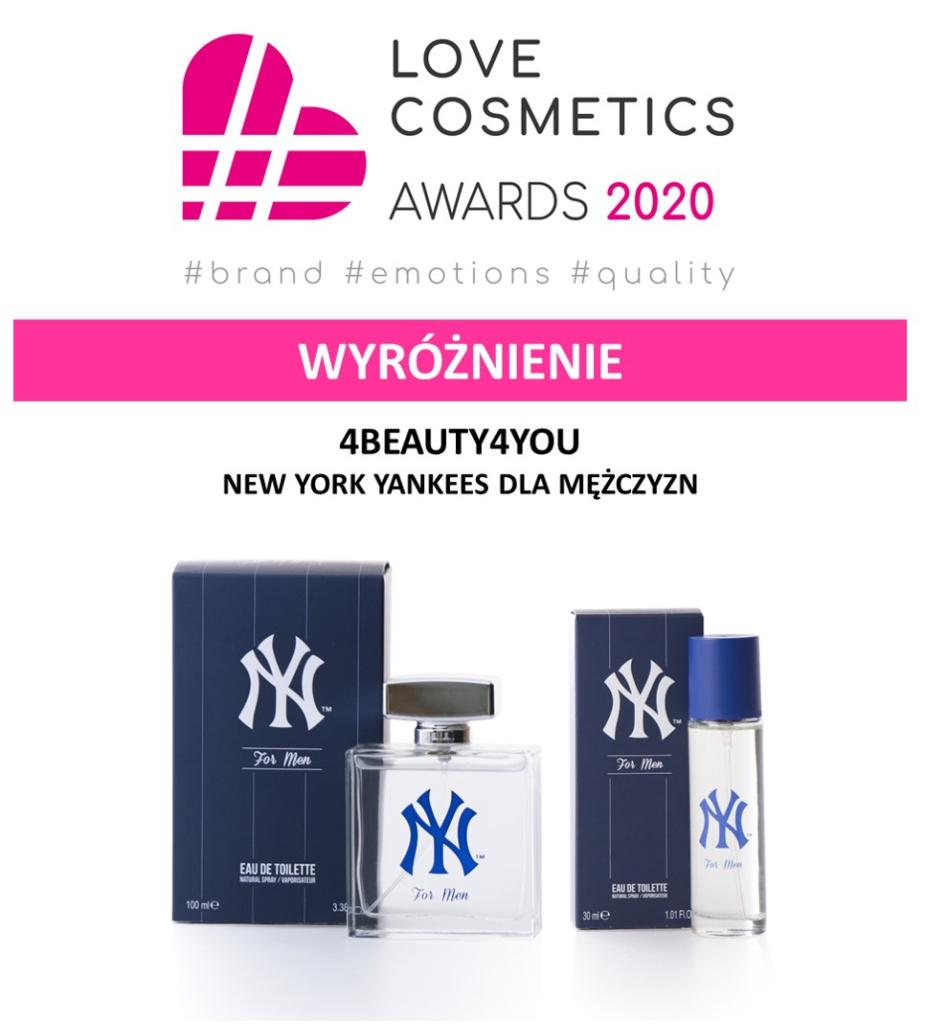 New York Yankees - Love Cosmetics Awards 2020