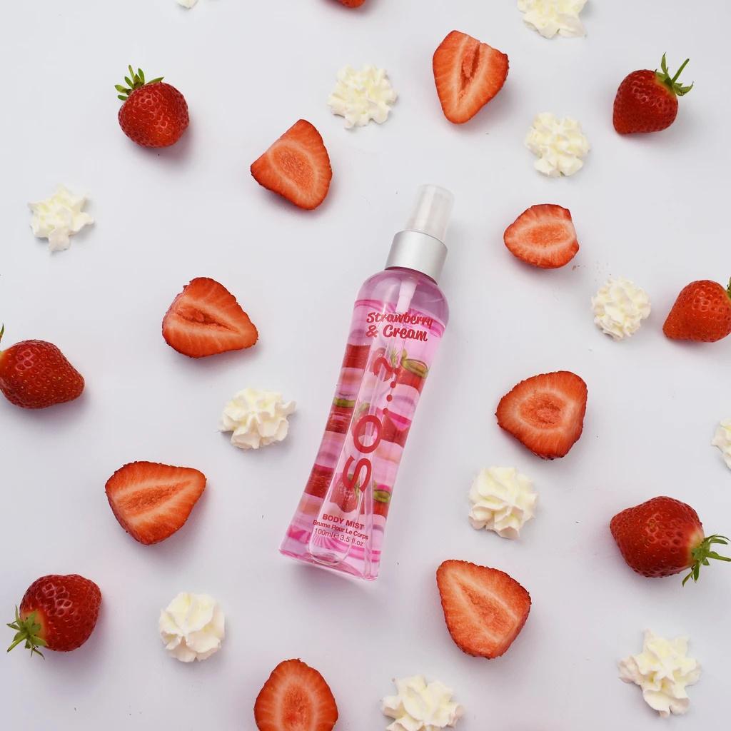 So...? Strawberry And Cream body mist