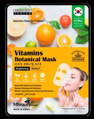 Vitamins botanical sheet face mask